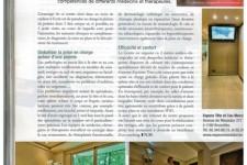 Article de la revue Evénement 2011