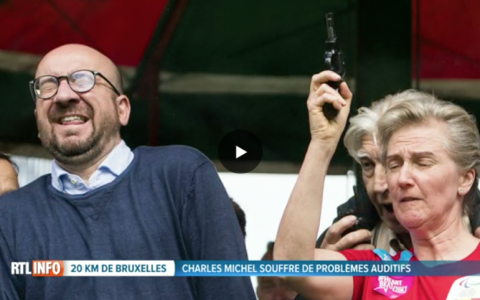 Traumatisme sonore pour Charles Michel