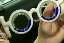 Les lunettes contre le mal des transports